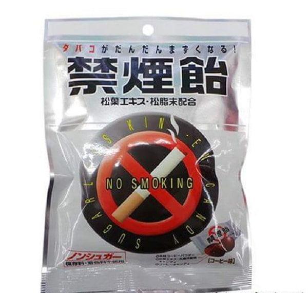 Kẹo cai thuốc lá Nhật Bản màu trắng