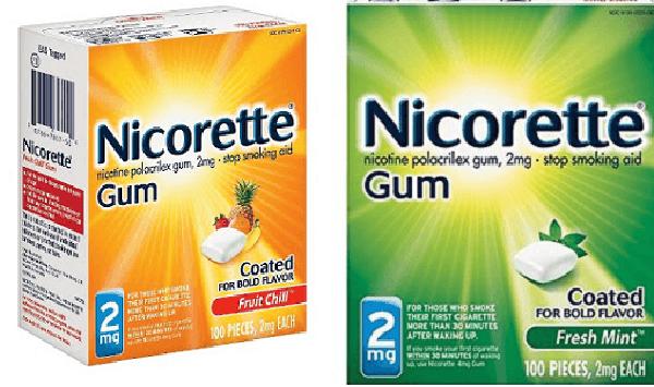 Kẹo cai thuốc lá Nicorette 2mg