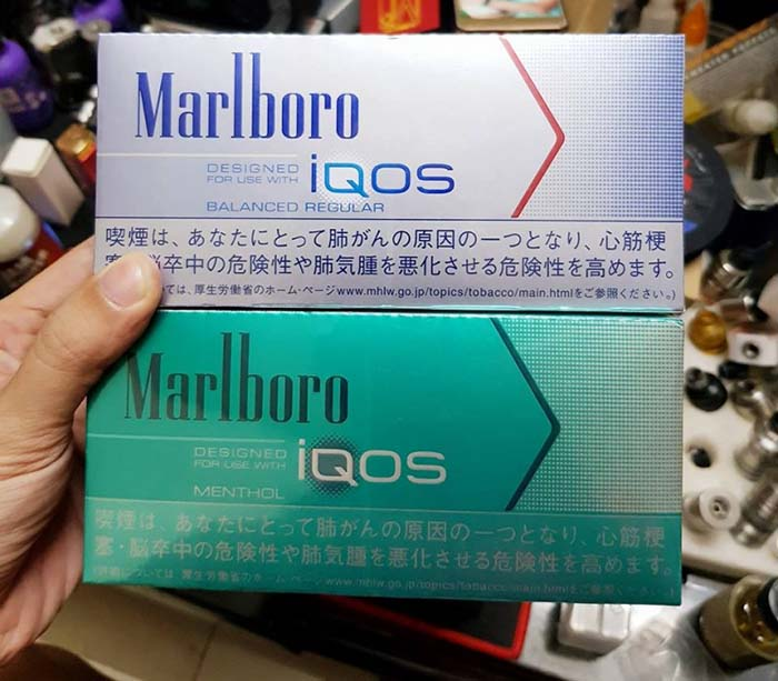 9 vị thuốc lá Marlboro IQOS hiện đang được lưu hành