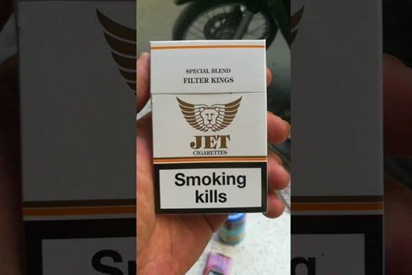 Thuốc lá Jet trắng là một thương hiệu quen thuộc trên thị trường thuốc lá Việt Nam.