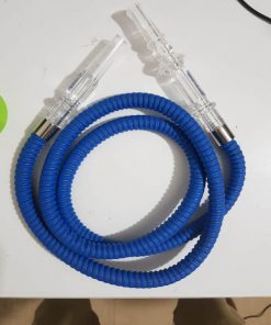 Vòi hút shisha bằng nhựa có đầu ngậm to dây dài khoảng 130 cm